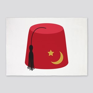 Fez Hat 5'x7'Area Rug