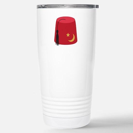 Fez Hat Travel Mug