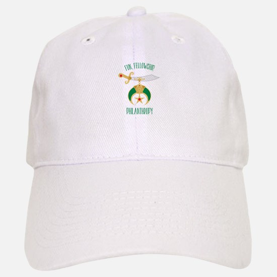 Fun Fellowship Philanthropy Baseball Baseball Baseball Cap
