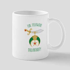 Fun Fellowship Philanthropy Mugs