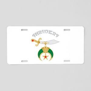 Shriners Aluminum License Plate