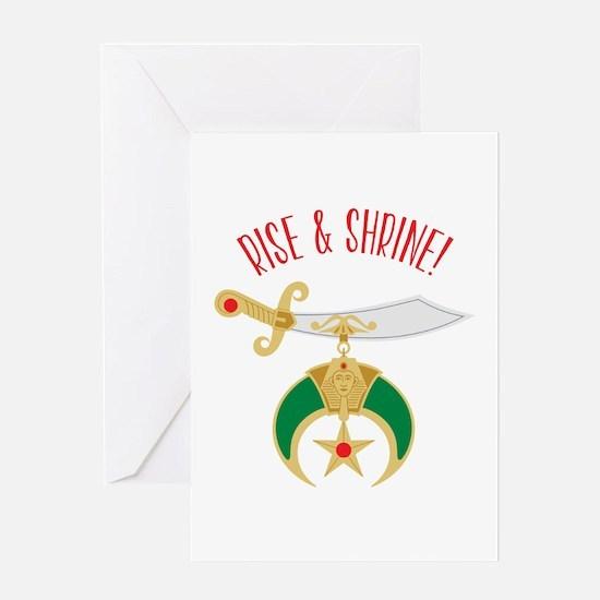 Rise & Shrine! Greeting Cards