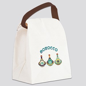 Morocco Tagines Canvas Lunch Bag