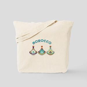 Morocco Tagines Tote Bag