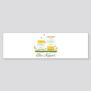 Bee Keeper Boxes Bumper Sticker