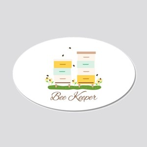 Bee Keeper Boxes Wall Decal