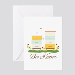 Bee Keeper Boxes Greeting Cards