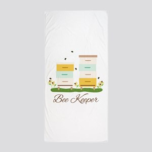 Bee Keeper Boxes Beach Towel