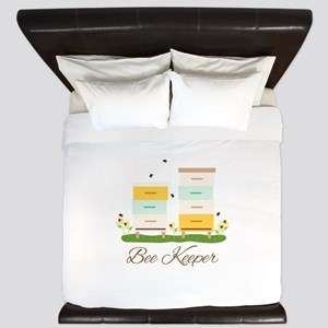 Bee Keeper Boxes King Duvet