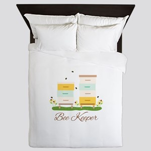 Bee Keeper Boxes Queen Duvet