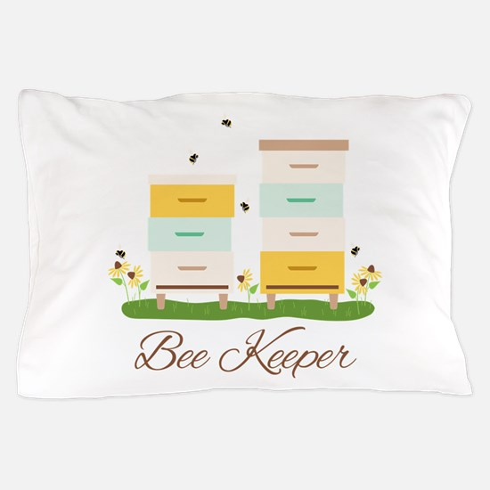 Bee Keeper Boxes Pillow Case