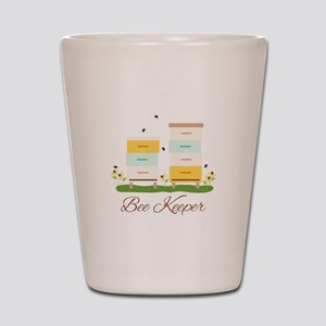 Bee Keeper Boxes Shot Glass