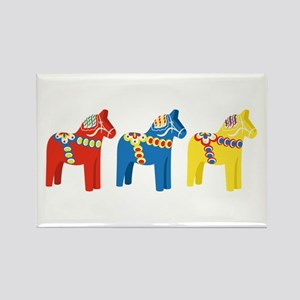 Dala Horse Border Magnets