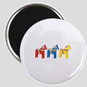 Dala Horse Border Magnets
