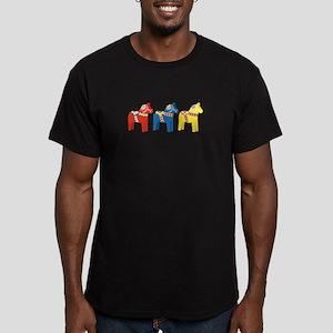 Dala Horse Border T-Shirt