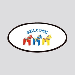 Welcome Dala Horses Patch