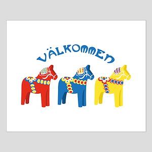 Dala Valkommen Horses Posters