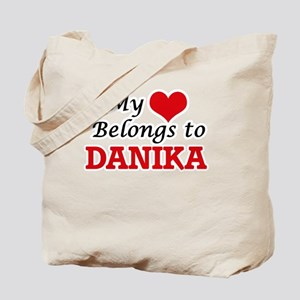My heart belongs to Danika Tote Bag