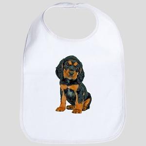 Gordon Setter Puppy Baby Bib