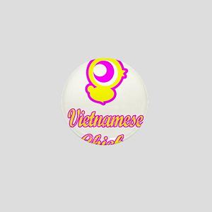 Vietnamese Chick Mini Button