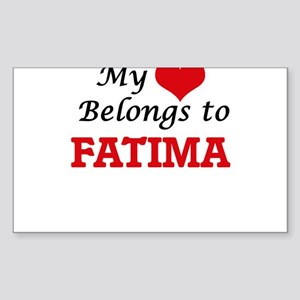 My heart belongs to Fatima Sticker