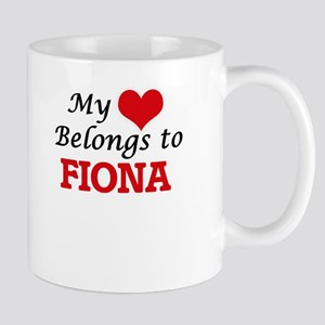 My heart belongs to Fiona Mugs