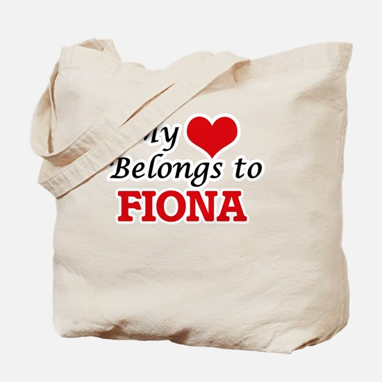 My heart belongs to Fiona Tote Bag