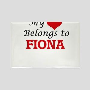 My heart belongs to Fiona Magnets
