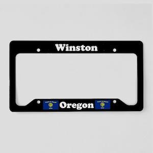 Winston OR - LPF License Plate Holder
