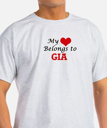 My heart belongs to Gia T-Shirt
