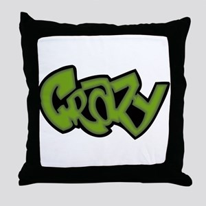 Graffiti - Crazy Throw Pillow