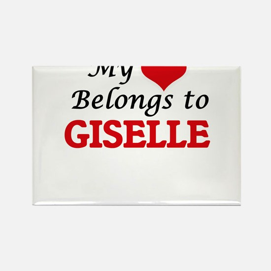 My heart belongs to Giselle Magnets