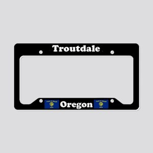 Troutdale OR - LPF License Plate Holder