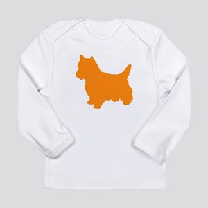 Cairn Terrier Orange 3 Long Sleeve T-Shirt