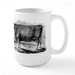 "Devon Cow ""Birthday"" - large mug"