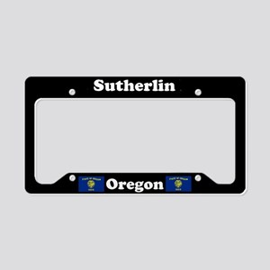 Sutherlin OR - LPF License Plate Holder