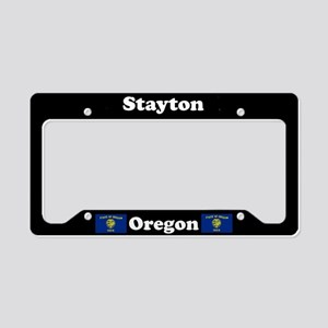 Stayton OR - LPF License Plate Holder