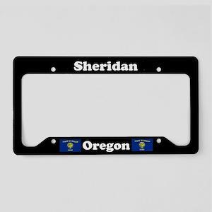 Sheridan OR - LPF License Plate Holder