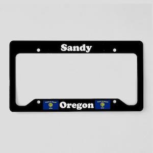 Sandy OR - LPF License Plate Holder