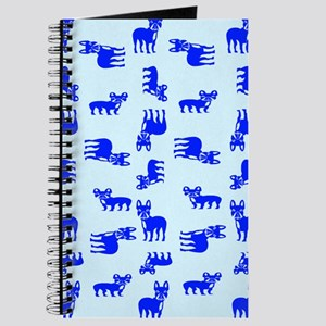 Blue French Bulldogs Journal