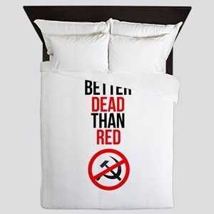 Better Dead than Red Queen Duvet