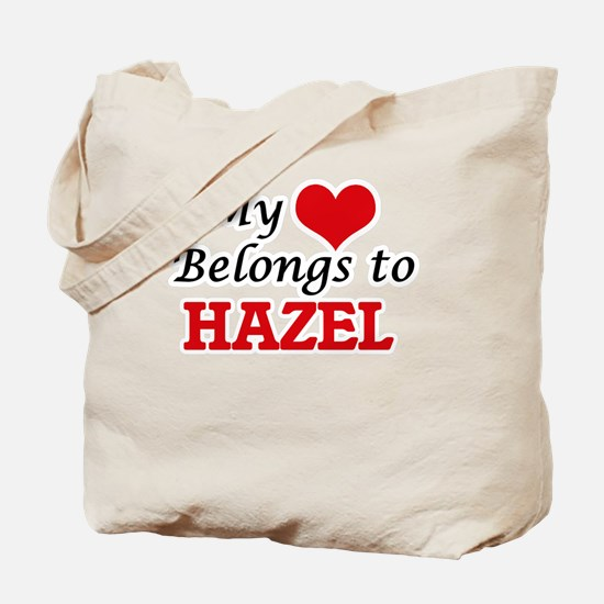 My heart belongs to Hazel Tote Bag