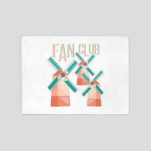 Fan Club 5'x7'Area Rug