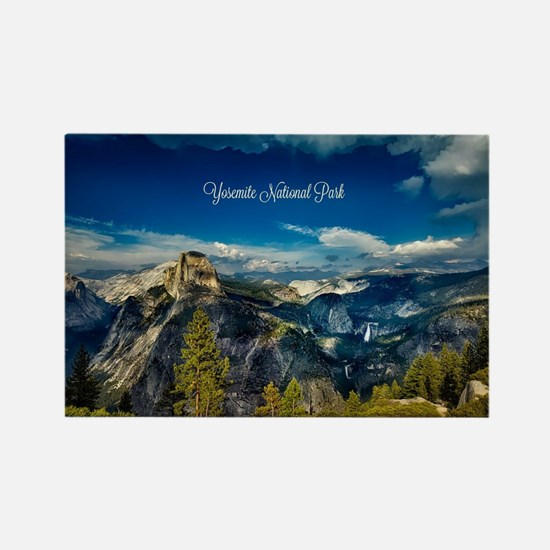 Cute Yosemite national park Rectangle Magnet