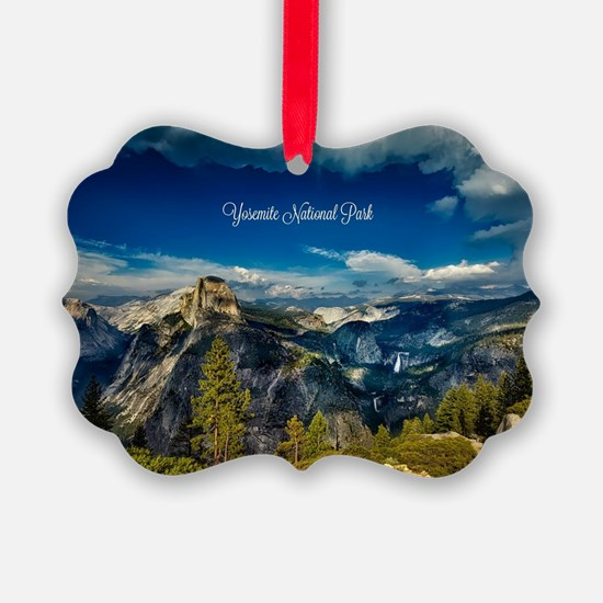 Unique Yosemite national park Ornament