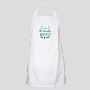 Pap's the Name, and Spoiling's the Game! BBQ Apron