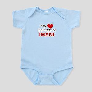 My heart belongs to Imani Body Suit