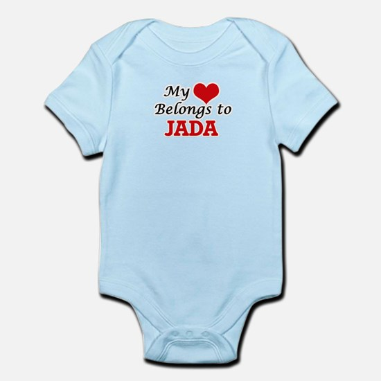 My heart belongs to Jada Body Suit