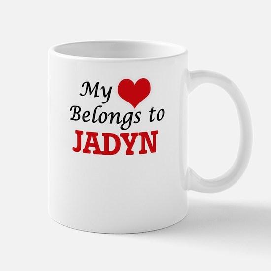 My heart belongs to Jadyn Mugs