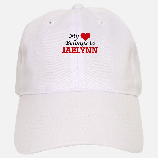 My heart belongs to Jaelynn Baseball Baseball Cap
